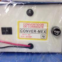 Eliminador 12v-30a Convermex