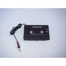 Adaptador De Cassette Monster Icarplay Para Mp3 Iphone Ipad