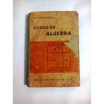 Libro Curso De Algebra.