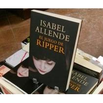 La Más Reciente Novela De Isabel Allende: El Juego De Ripper