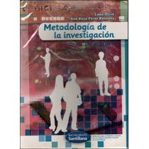 Libro: Metodología De La Investigación Envío Gratis