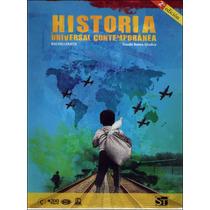 Libro: Historia Universal Contemporánea Envío $30 Ok