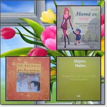 Set De 3 Libros En Honor A La Madre Mamá / Usados