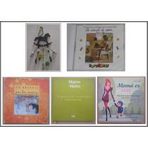 Baby Shower Set Para Futura Madre * Libros Cd Llavero Usado