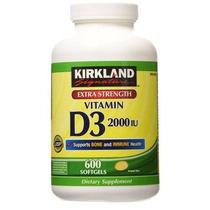 Kirkland Signature Fuerza Adicional De Vitamina D3 2.000 Ui