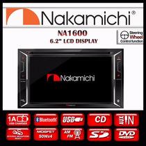 Estereo Doble Din Nakamichi Na1600 Dvd,usb,aux,bluetooth