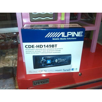 Autoestereo Alpine Cde-hd149bt Bluetooht Usb Nuevos New 2016