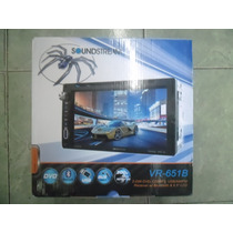 Soundstream Pantalla Doble Din 6.5 Bluetooth Usb Aux Dvd