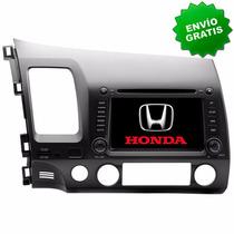 Autoestereo Navegador Gps Honda Civic 06 - 11 Pantalla Dvd
