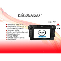 Stereo Tipo Original Mazda Cx7 Touch 7hd Dvd Mp3 Gps Gratis