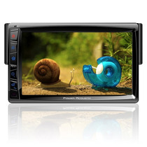 Autoestereo Pantalla Power Acoustik Pd-712bt Bluetooth Tv Sd