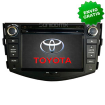Navegador Gps Toyota Rav4 Autoestereo Pantalla Bluetooth Dvd
