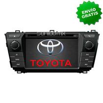 Navegador Gps Toyota Corolla 2013 2015 Autoestereo Pantalla