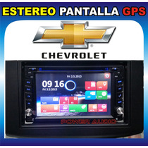 Estereo Pantalla Chevrolet Aveo 2009-20015 Dvd Mp3 Gps Usb