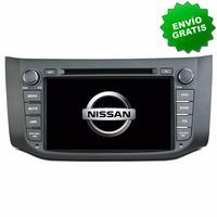Autoestereo Navegador Gps Nissan Sentra 13 - 16 Pantalla Dvd