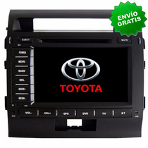 Autoestereo Navegador Gps Toyota Land Cruiser Dvd Bluetooth