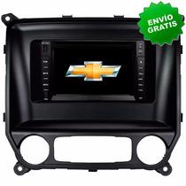 Autoestereo Navegador Gps Chevrolet Silverado 14-16 Dvd Usb