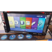 Estereo Soundstream De Gps Mex, Usa , Dvd Usb Aux Mp3