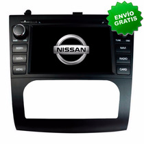 Autoestereo Navegador Gps Nissan Altima 07-12 Dvd Bluetooth