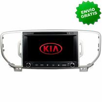 Autoestereo Navegador Gps Kia Sportage 16- Pantalla Dvd