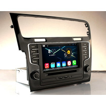 Estereo Vw Golf 7 Gti 2015 Android Ipod Gps Dvd Wifi 3g Usb