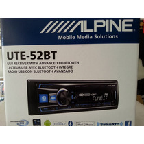 Estereo Alpine Ute 52bt Usb Bluetooth Aux