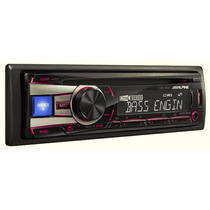 Autoestereo Alpine Cde-151e Mp3 Wma Aux Usb Iphone