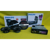 Auto Estereo Philips Cmd310/55 Para Ipod Y Iphone