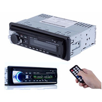 Autoestereo Bluetooth V2.0 Fm Usb Sd Aux Rep Mp3 60wx4 Ctrol