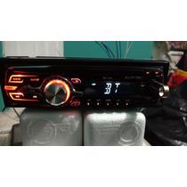 Auto Estereos Megafire Bluetooth, Usb Y Fm Caratula