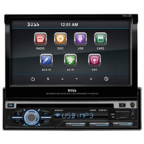 Stereo Boss Audio Bv9977 In-dash Single-din 7-inch Motorized