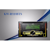 Autoestereo Jvc Kw-r920bts Doble Din Ipod Bluetooth