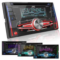 Autoestereo Jvc Kw-r710 Doble Din Multicolor Ipod Usb 2014
