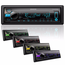 Estereo Kenwood Usb Aux Mp3 Dc Bluetooth Cambio De Colores
