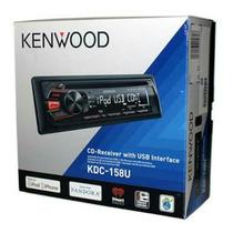 Autoestéreo Kenwood Kdc 158u Nuevo Sellado Factura Garantia