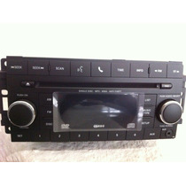 Autoestereo Original Chrysler Dodge Jeep Dvd Mp3 Auxiliar