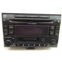 Autoestereo Original Nissan Xtrail 6 Cds Cassette Auxiliar