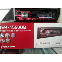 Estereo Pioneer Deh-1550ub Usb, Aux,cd. Mp3 Am .fm