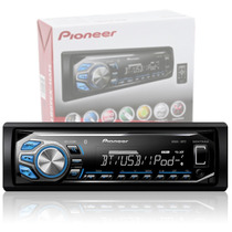 Autoestereo Pioneer Mvh-x360bt Usb Aux Bluetooth Iphone Ipod