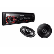 Autoestereo Pioneer X185ui Usb Ipod Iphone Mp3 Aux Android