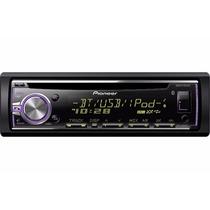Autoestéreo Pioneer Deh-x6800bt Cd Usb Aux Phone Bluetooth