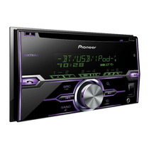 Pioneer Bluetooth Autoestereo Ipod Iphone Fh-x720bt Mp3 Usb