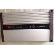 Amplificador Nakamichi Ngtd1200.1 Peak Power 8000 W Gris