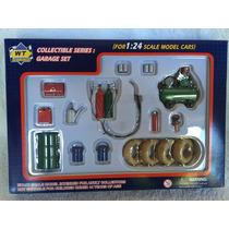 Diorama Garage Set Taller Chico, Escala 1:24
