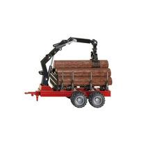 Juguete Trailer - Siku Forestal 1:50 Modelo Miniatura Replic