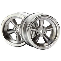 Rines Hpi Racing Vintage 5-spoke Wheel 31mm Matte Chrome (2)