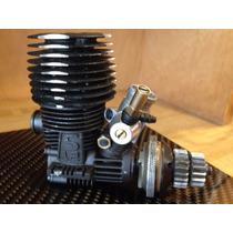 Motor Nitro Rc Novarossi .12 Modificado Por Jp, 5 Puertos.