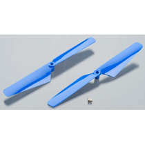 Traxxas Latrax 6629 Rotor Blade Set Blue Alias (2)