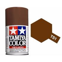 Tamiya 85001 Spray Lacquer Ts-1 Red Brown 100ml (pintura)
