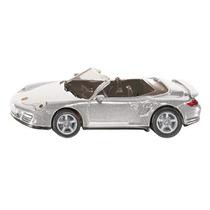 Coche De Juguete Porsche - Siku 911 Turbo Cabrio Réplica En